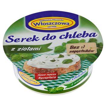 Włoszczowa Serek do chleba z ziołami 100 g