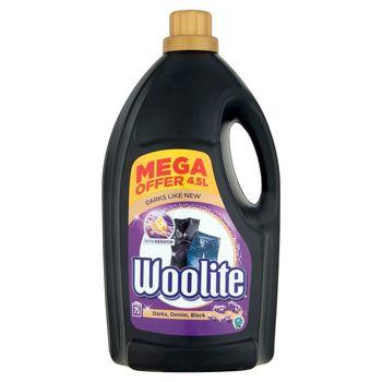 Woolite Czerń ciemne kolory & jeans z keratyną Płyn do prania 4,5 l (75 prań)
