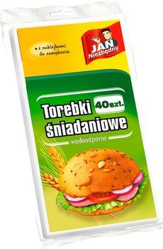Woreczki JAN NIEZBĘDNY Torebki papierowe 40 szt.