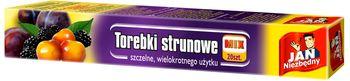 Woreczki JAN NIEZBĘDNY Torebki strunowe Mix 20 szt.