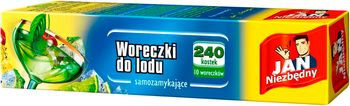 Woreczki JAN NIEZBĘDNY Woreczki do kostek lodu 240 szt.