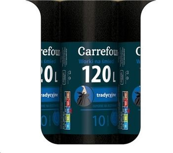 Worek CARREFOUR MC Trad 120 L