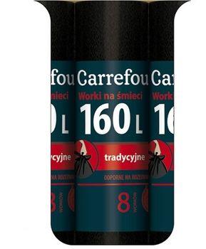 Worek CARREFOUR MC Trad 160 L