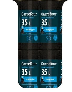 Worek CARREFOUR MC Trad 35 L
