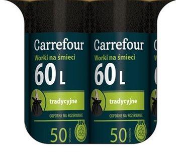 Worek CARREFOUR MC Trad 60 L