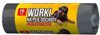 Worek SARANTIS Worki na psie odchody 16 szt.