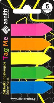 FAMEX Zakładki indeksujące Tag Me 5 kolorów