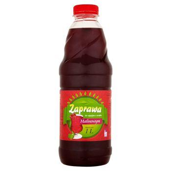 Zaprawa do napojów o smaku malinowym 1 l
