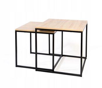 Zestaw 2 stolików Loft Tora Ts Interior