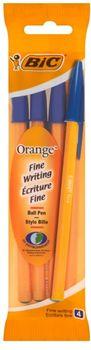 Zestaw długopisów BIC Orange Original Niebieski 4 szt 3086121601217