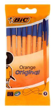 Zestaw długopisów BIC Orange Original Niebieski 8 szt Długopis Orange Original Niebieski 8 szt