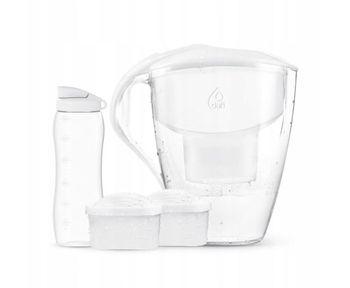 Zestaw Dzbanek do wody Dafi Astra 3 l + bidon 0,6 l + 2 filtry