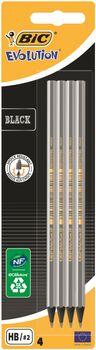 Zestaw ołówków BIC Evolution Black HB 4 szt.