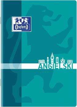 Oxford Zeszyt A5 60 k. angielski (mix)