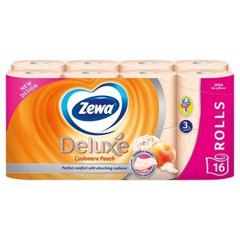 Zewa Deluxe Cashmere Peach Papier toaletowy 16 rolek