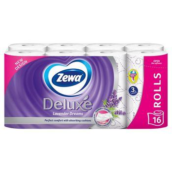 Zewa Deluxe Lavender Dreams Papier toaletowy 16 rolek