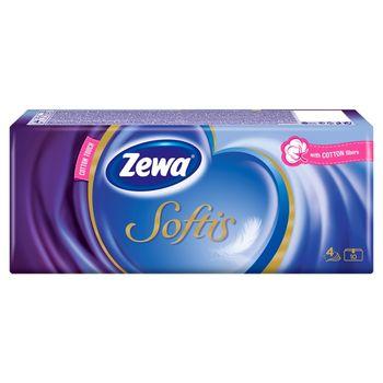 Zewa Softis Chusteczki higieniczne 10 x 9 sztuk