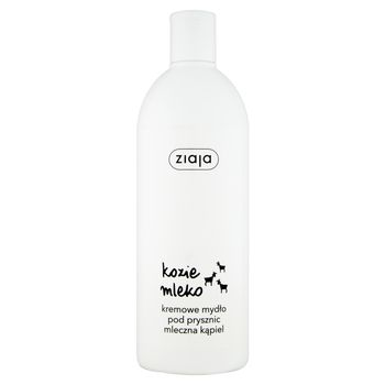 Ziaja Kozie mleko Kremowe mydło pod prysznic mleczna kąpiel 500 ml