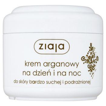 Ziaja Krem arganowy na dzień i na noc do skóry bardzo suchej i podrażnionej 75 ml
