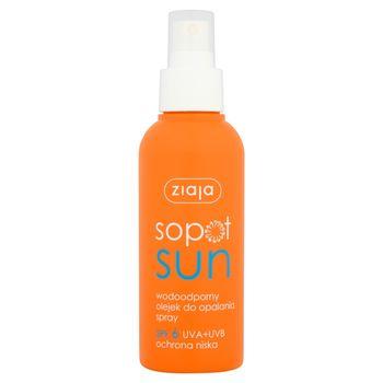 Ziaja Sopot Sun Wodoodporny olejek do opalania spray SPF 6 125 ml
