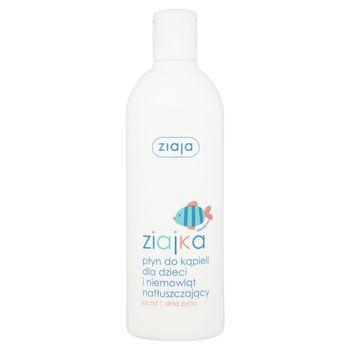 Ziaja Ziajka Płyn do kąpieli dla dzieci i niemowląt natłuszczający już od 1 dnia życia 370 ml