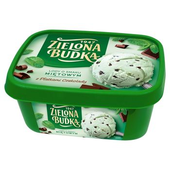 Zielona Budka Lody o smaku miętowym 1000 ml
