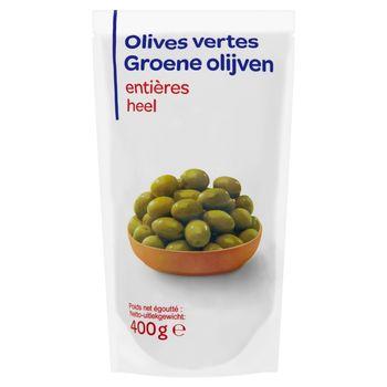 Zielone oliwki całe 600 g