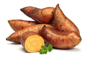 Ziemniak słodki batat ważony