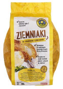 """Ziemniaki do smażenia i pieczenia """"Jakość z Natury Carrefour"""" 2 kg"""