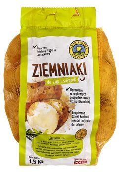 """Ziemniaki do zup i sałatek """"Jakość z Natury Carrefour"""" 1,5 kg"""
