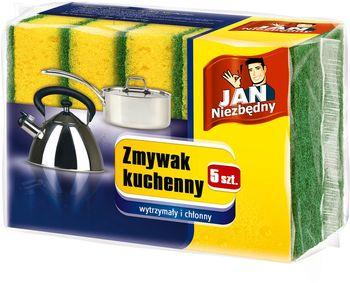 Zmywak z gąbką JAN NIEZBĘDNY Zmywak kuchenny 5 szt.
