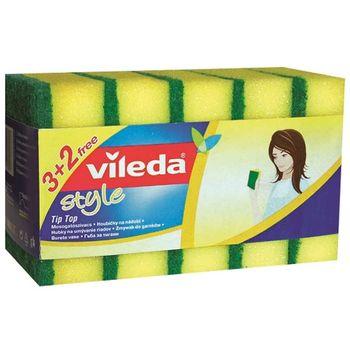 Zmywak z gąbką VILEDA Style 3+2