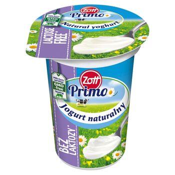 Zott Primo Bez laktozy Jogurt naturalny 180 g
