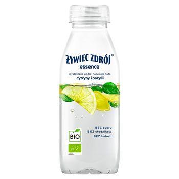 Żywiec Zdrój essence Napój niegazowany BIO o smaku cytryny i bazylii 400 ml