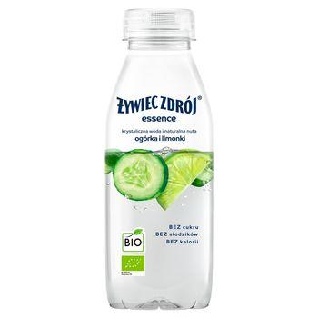 Żywiec Zdrój essence Napój niegazowany BIO o smaku limonki i ogórka 400 ml