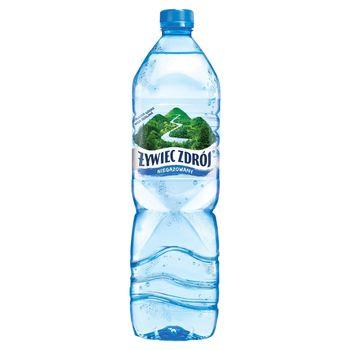 Żywiec Zdrój Niegazowany Woda źródlana 1,5 l