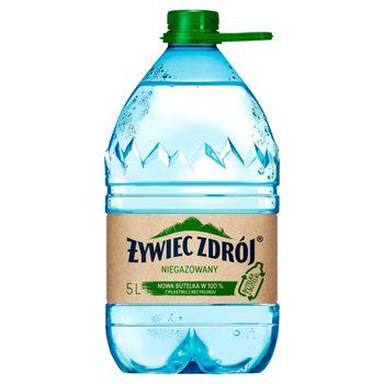 Żywiec Zdrój Niegazowany Woda źródlana 5 l