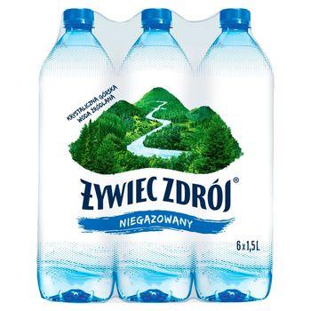 Żywiec Zdrój Niegazowany Woda źródlana 6 x 1,5 l