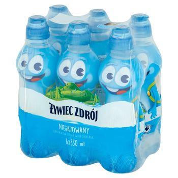 Żywiec Zdrój Niegazowany Woda źródlana 6 x 330 ml