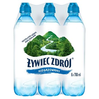 Żywiec Zdrój Niegazowany Woda źródlana 6 x 700 ml