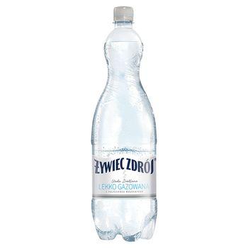 Żywiec Zdrój Woda źródlana lekko gazowana 1,5 l