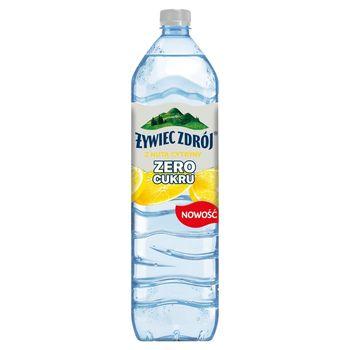 Żywiec Zdrój Zero Cukru Napój niegazowany z nutą cytryny 1,5 l