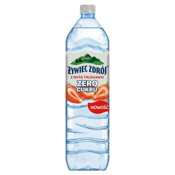 Żywiec Zdrój Zero Cukru Napój niegazowany z nutą truskawki 1,5 l